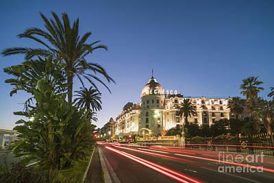 Photograph - Hotel Negresco Nice  by Juergen Held