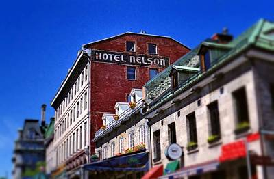 Photograph - Hotel Nelson by Rodney Lee Williams