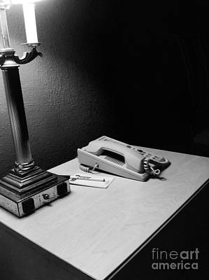 Photograph - Hotel Night Stand by WaLdEmAr BoRrErO