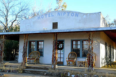 Photograph - Hotel Nipton  by Floyd Snyder