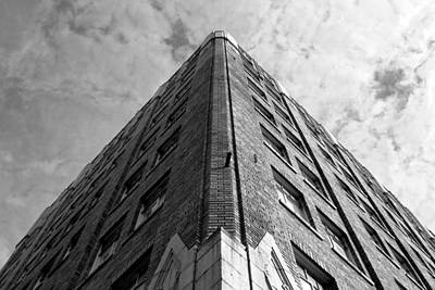 Photograph - Hotel Pickwick - San Francisco - Corner View - Black And White by Matt Harang