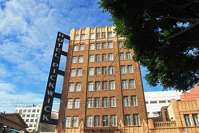 Photograph - Hotel Pickwick - San Francisco - Landscape View by Matt Harang