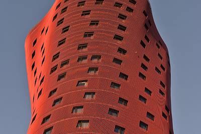 Photograph - Hotel Porta Fira Barcelona Abstract by Marek Stepan
