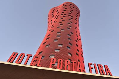 Photograph - Hotel Porta Fira  by Marek Stepan