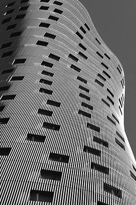 Photograph - Hotel Porta Fira Monochrome by Marek Stepan