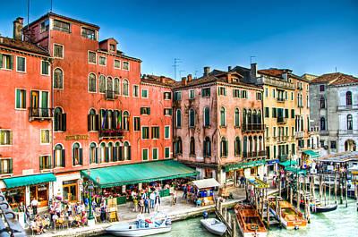 Hotel Rialto    Venice Italy Art Print by Jon Berghoff