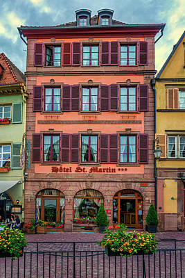 Photograph - Hotel St Martin Colmar France_dsc7110_16 by Greg Kluempers