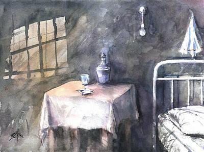Painting - Hotel Star... by Faruk Koksal