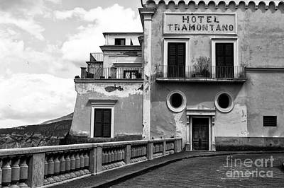 Photograph - Hotel Tramontano by John Rizzuto