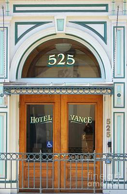 Photograph - Hotel Vance by Douglas Miller