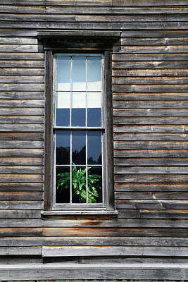 Photograph - Hotel Window Fayette State Park by Mary Bedy