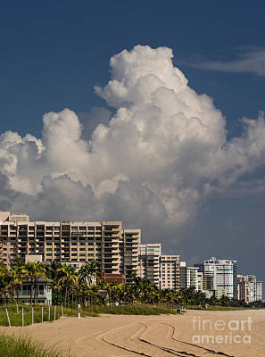 Beach Photograph - Hotels At The Beach by Zina Stromberg