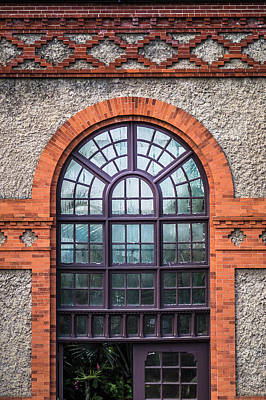 Photograph - Hothouse Window by Van Sutherland