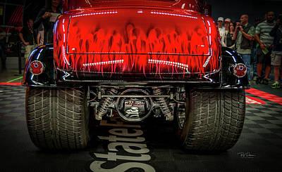 Photograph - Hotrod Butt by Bill Posner