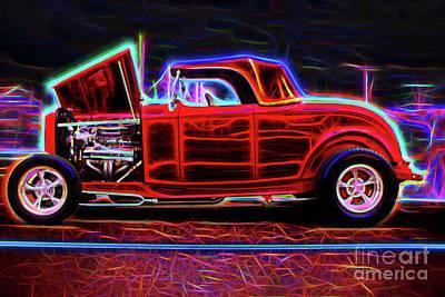 Photograph - Hotrod Coupe by Steven Parker