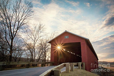 Photograph - Houck Covered Bridge  by Shari Jardina