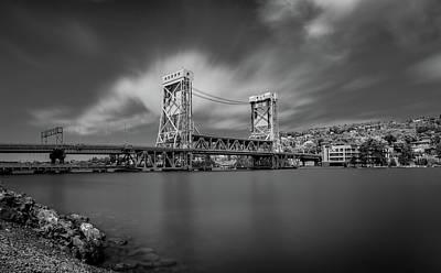 Photograph - Houghton Portage Bridge by James Howe