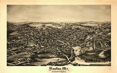 1878 Painting - Houlton by Norris