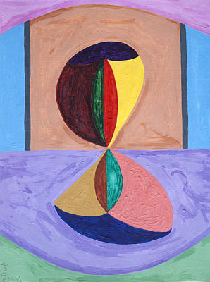 Arch Shapes Painting - Tunnel Of Love by Stormm Bradshaw