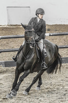 Canter Photograph - Hours Days Months Years In Five Minutes by Betsy Knapp