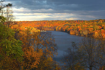 Photograph - Housatonic In Autumn by Karol Livote