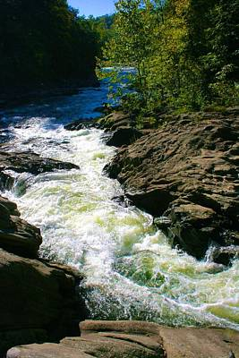 Photograph - Housatonic Rapids by Polly Castor