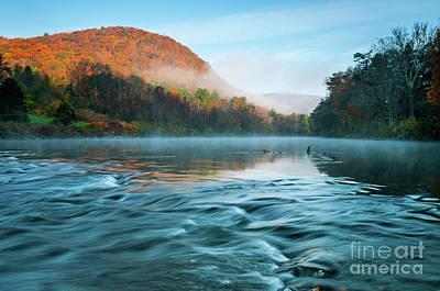 Housatonic Reverie - Autumn In New England Art Print by JG Coleman