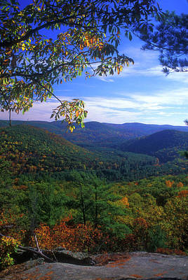 Photograph - Housatonic Valley From Pine Knob by John Burk