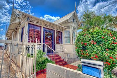 Photograph - House # 72, Trinidad by Nadia Sanowar