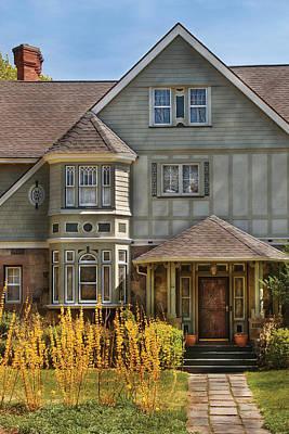 Photograph - House - Morriston Nj - Modern Victorian by Mike Savad