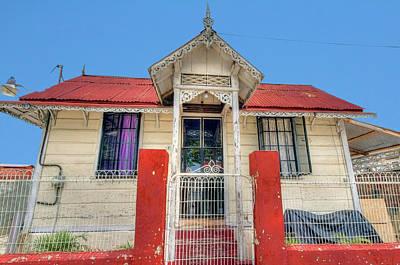 Photograph - House #1a by Nadia Sanowar