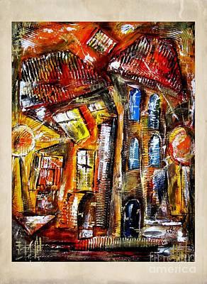 Pop Art - House 4063 by Marek Lutek