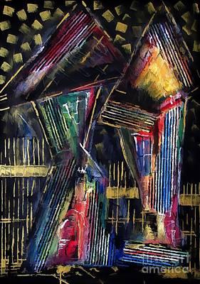 Digital Art - House 4400 by Marek Lutek