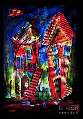 Digital Art - House 4407 by Marek Lutek