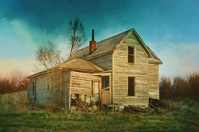 Photograph - House Abandoned by Nikolyn McDonald