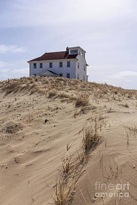 Photograph - House Among The Sand Dunes Cape Cod by Edward Fielding
