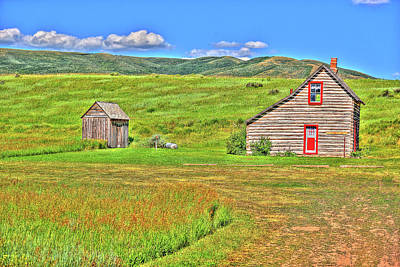 Photograph - House And Shed by Richard J Cassato