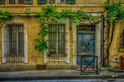 Photograph - House Arles France_dsc5554_16 by Greg Kluempers