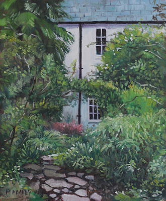 Painting - House At Hillier Gardens by Martin Davey