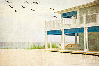 Photograph - House By The Beach In Florida by Vizual Studio