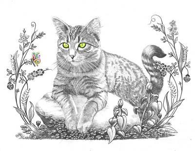 House Cat Original by Murphy Elliott