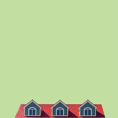 Minimal Wall Art - Photograph - House by Caterina Theoharidou