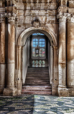 Photograph - House Entrance Palermo  by Patrick Boening
