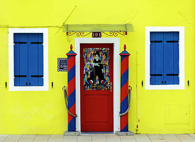 Photograph - House In Burano by Pietro Ebner