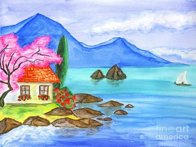 Painting - House In Crimea by Irina Afonskaya