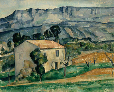 Post-impressionist Wall Art - Painting - House In Provence by Paul Cezanne