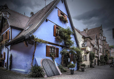 House In Riquewihr, Alsace Art Print