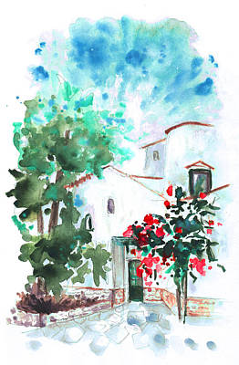 Painting - House In San Jose by Miki De Goodaboom