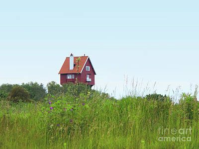 Photograph - House In The Clouds by Ann Horn