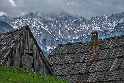 Photograph - House In The Pass #2 - Slovenia by Stuart Litoff